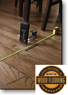 Certified Professional Wood Flooring Inspector