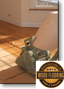 Certified Professional Wood Flooring Sand and Finisher