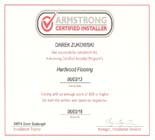Certified Hardwood Flooring Installer